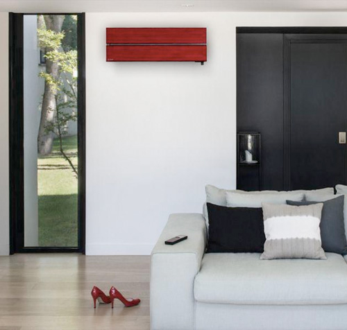 mitsubishi electric climatiseur mural pompe a chaleur air air design de luxe thermo conseils